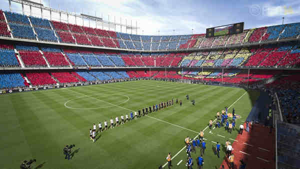 Stadi e giocatori Fifa 14