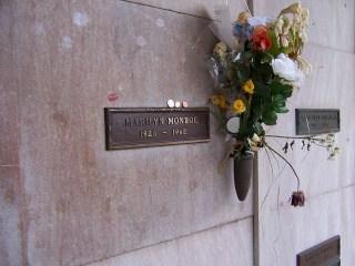 La tomba di Marilyn Monroe
