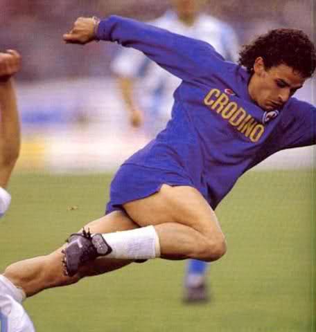 Baggio con la Fiorentina