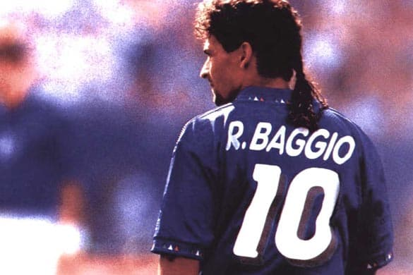 Baggio ai Mondiali di Italia 90