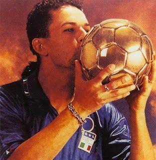 Baggio vince il Pallone d'Oro