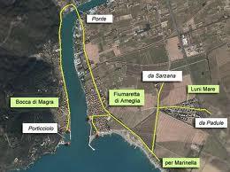 Cartina Bocca di Magra
