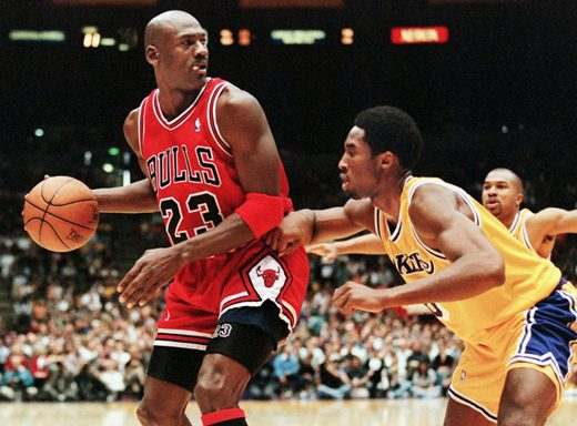 Michael Jordan con i Chicago Bulls