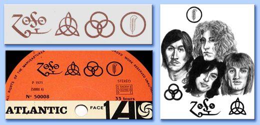 La copertina di Led Zeppelin IV