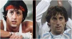 Stallone e Milito