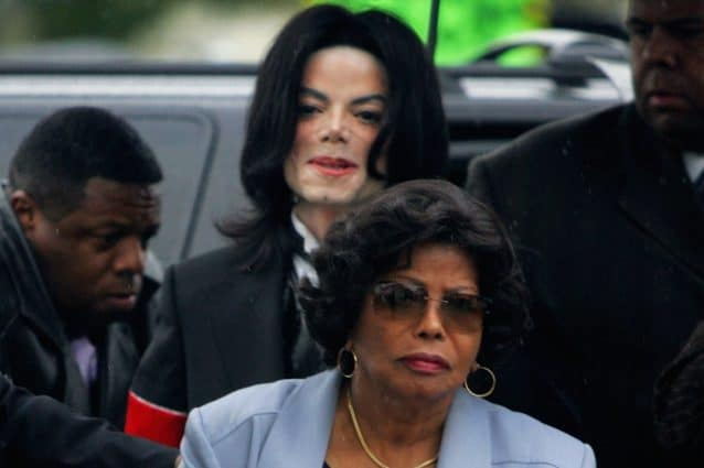 Michael Jackson e katherine Jackson