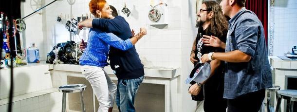 Simona Ventura e gli Ape Escape X Factor 2013
