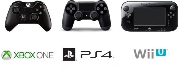 Wii U GamePad, DualShock, GamePad Xbox One