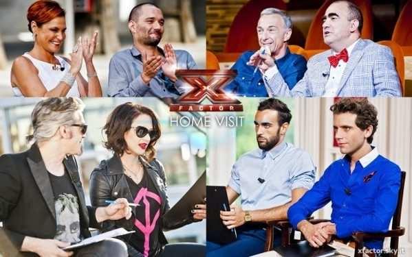 X Factor gli Home Visit 2013
