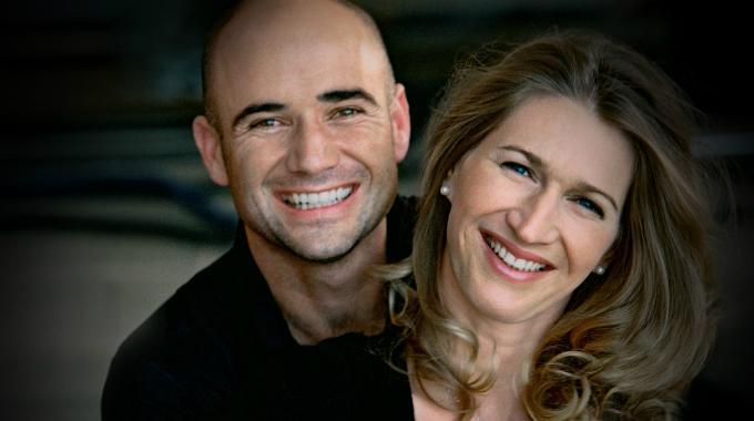 Andrè Agassi e Steffi Graf
