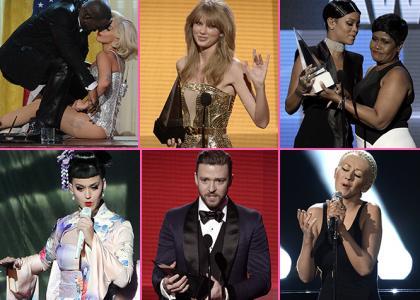 I vincitori degli American Music Awards 2013