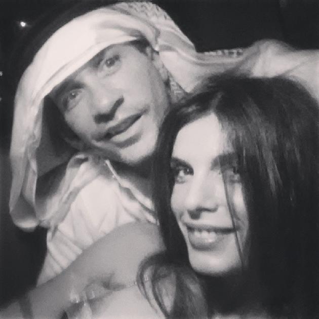 Elisabetta Canalis con Brian Perri