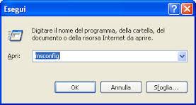 msconfig - Come avviare Windows in modalità provvisoria e rimuovere i Virus