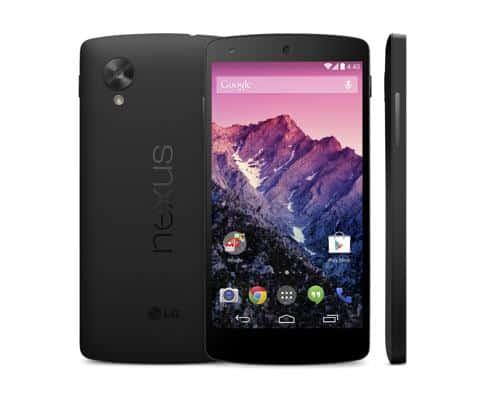 Nexus 5 LG e Google