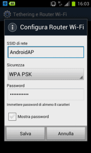 Configura Router WIFI-Android