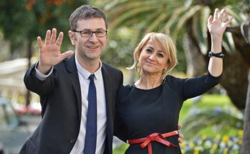 Sanermo 2014: Fabio Fazio e Luciana Littizzetto
