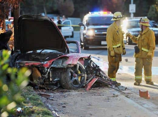 L'incidente in cui è morto Paul Walker