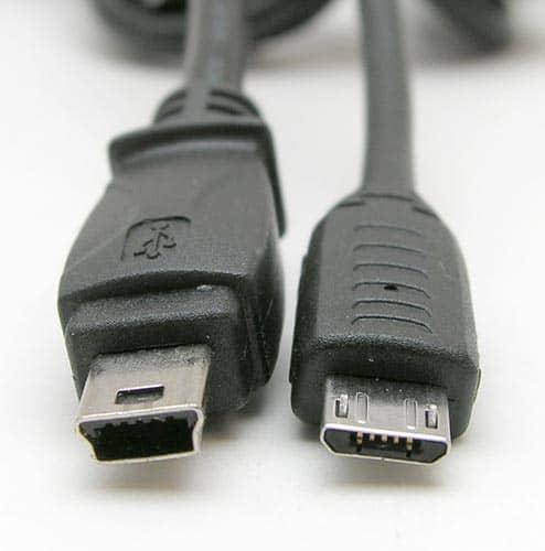 Mini USB e Micro USB