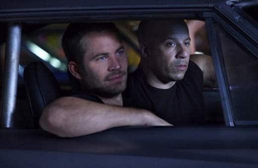 Paul Walker e Vin Diesel in Fast and Farious
