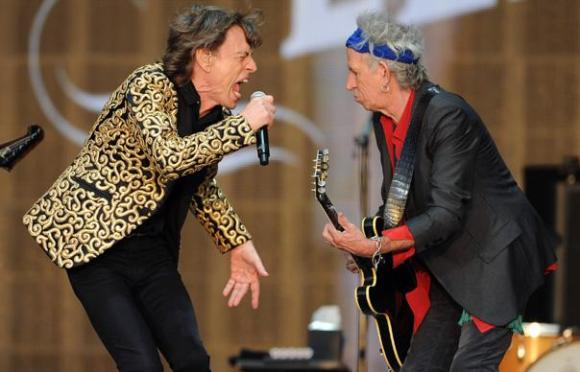 Mick Jagger e Keith Richards oggi