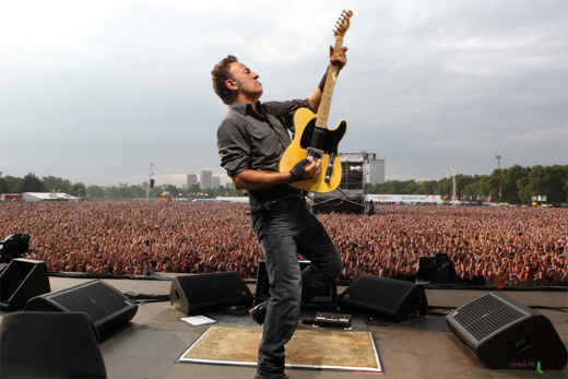 Bruce Springsteen e il suo Wrecking Ball World Tour