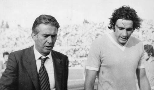 Tommaso Maestrelli e Giorgio Chinaglia