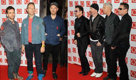 I nuovi album del 2014 dei ColdPlay e U2