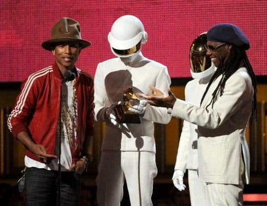 Daft Punk vincono ai Grammy Awards 2014