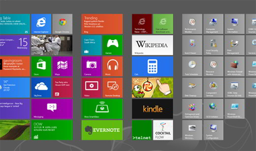 I trucchi nascosti di Windows 8
