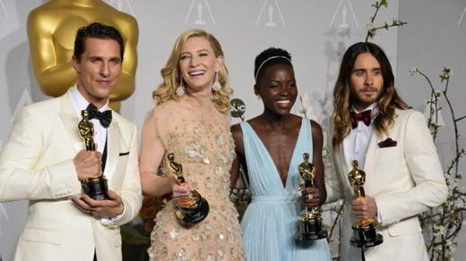 I vincitori degli Oscar 2014