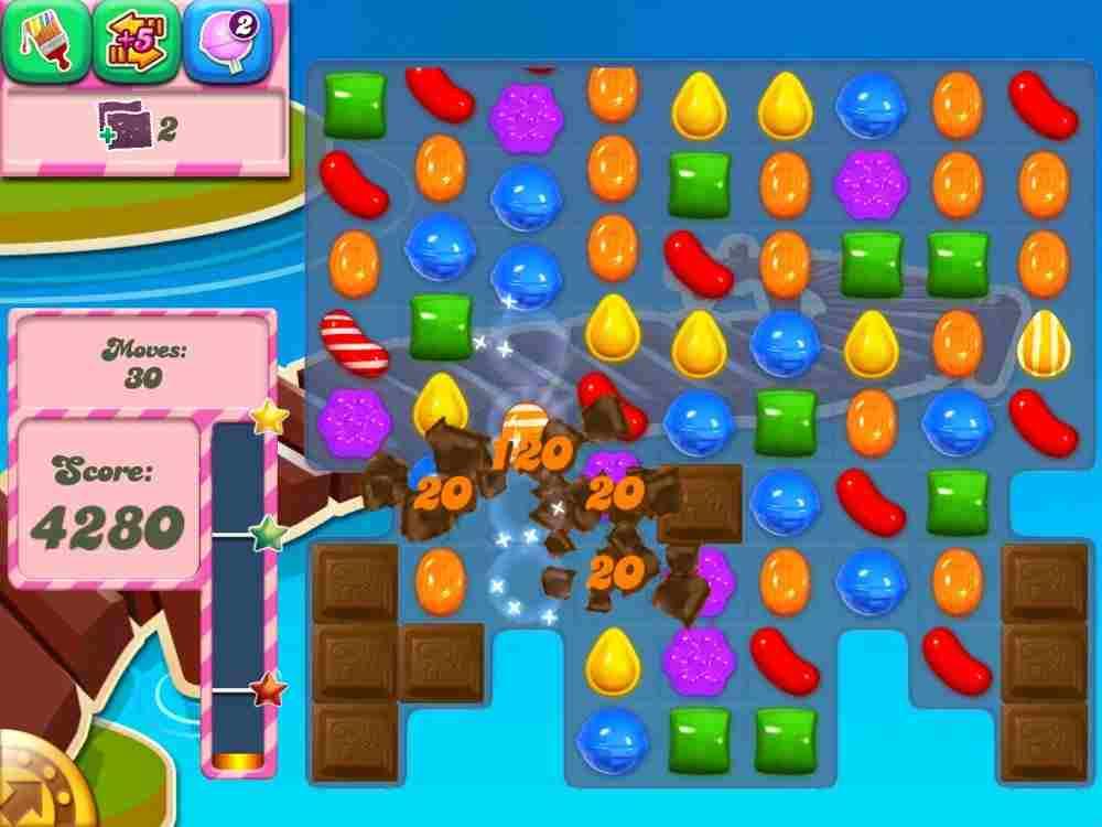candy crush saga: schema esemplificativo