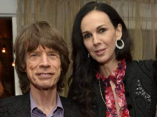 Mick Jagger e Wren Scott