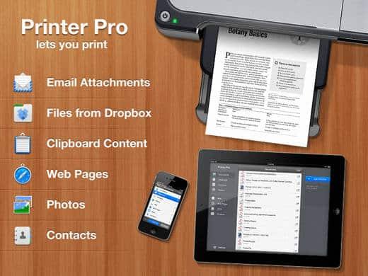 Printer Pro per iOS