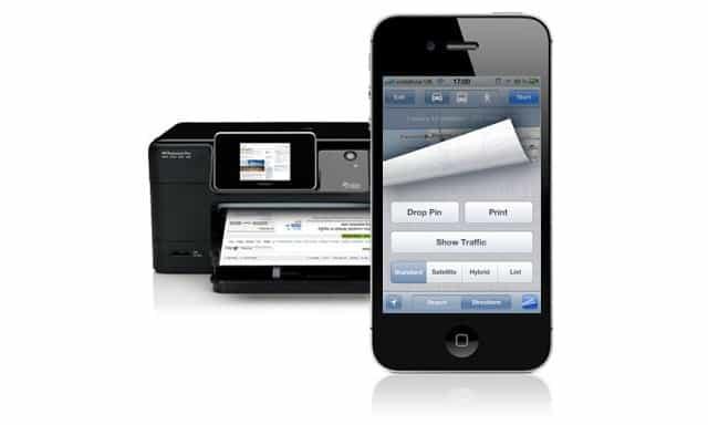 Stampare con iOS attraverso AirPrint