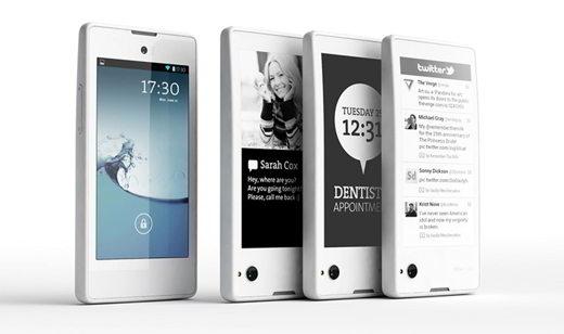 Yotaphone con doppio schermo