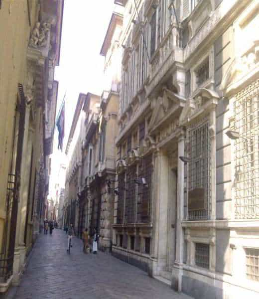 Genova: Strade Nuove e Palazzo Rolli