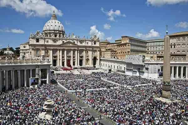 Canonizzazione dei due Papi a San Pietro