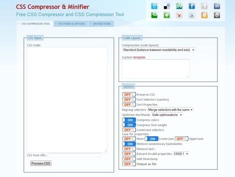 Css Compressor & Minifier