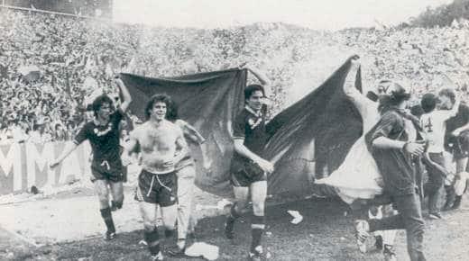 La roma vince lo scudetto nel 1983