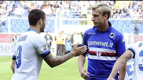 Icardi e Maxi Lopez a Genova
