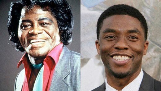 James Brown e Chadwick Boseman