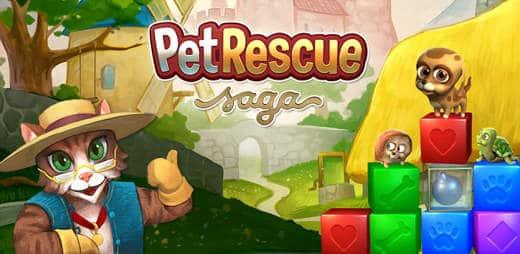 Pet Rescue Saga Facebook