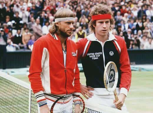 Bjon Borg e John McEnroe