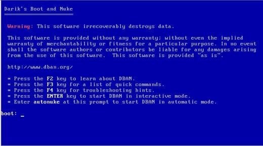 Darik's Boot and Nuk