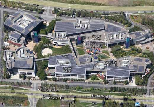 QuartierGenerale.Google - Le sedi di lavoro dei colossi tecnologici