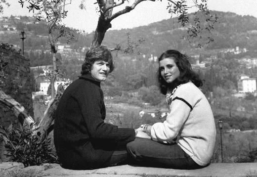 Antognoni e la moglie Rita Monosilio