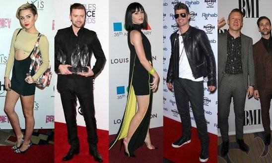 I vincitori del Billboard Music Awards 2014