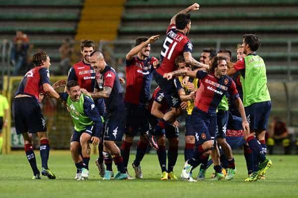 Cagliari Calcio agli americani