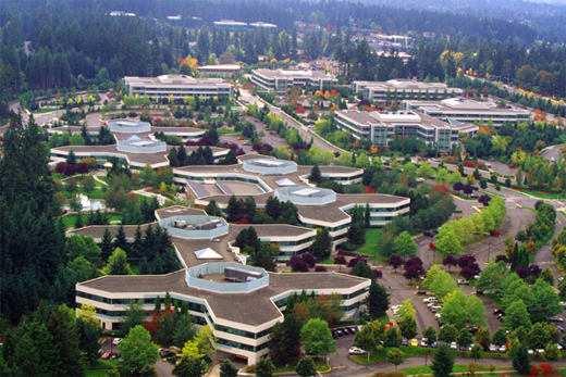 Microsoft Campus Redmond