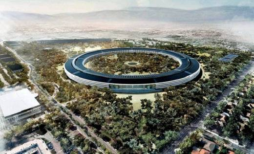 La sede di Cupertino di Apple